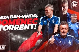 Oficial: Domènec Torrent, nuevo técnico de Flamengo