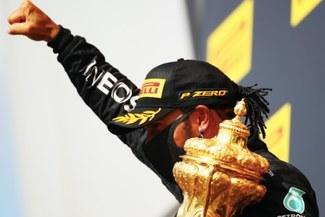 Sigue su reinado: Lewis Hamilton ganó el GP de Gran Bretaña con un neumático pinchado
