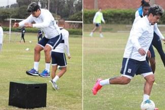Patricio Rubio y su primer entrenamiento con Alianza Lima