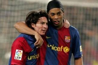 ¡Grandes amigos! Ronaldinho será vecino de Lionel Messi en Barcelona