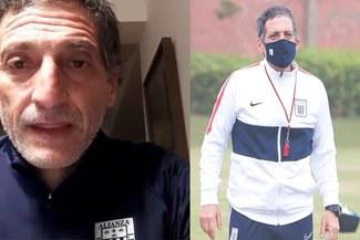 """Mario Salas envía certero mensaje al universo Alianza Lima: """"El verdadero hincha se queda en casa"""""""