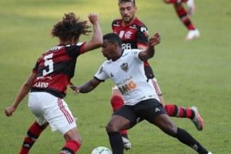 Flamengo perdió 1-0 ante Mineiro en el arranque del Brasileirao