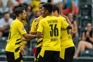 Dortmund en modo Bayern: humilló 11-2 al Austria Viena en duelo amistoso [VIDEO]