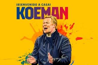 Barcelona oficializó a Ronald Koeman como su nuevo entrenador