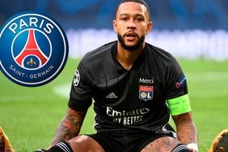 """PSG quiere """"atrasar"""" a Barcelona con el fichaje de Memphis Depay"""