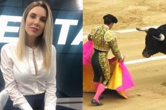 """Juliana Oxenford sobre corridas de toros: """"Es una pésima tradición que tiene que ser aniquilada"""" [VIDEO]"""