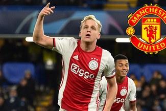 Manchester United confirma fichaje de Van de Beek por 45 millones de euros [VIDEO]