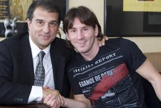 Joan Laporta confirmó candidatura a la presidencia de Barcelona para retener a Messi