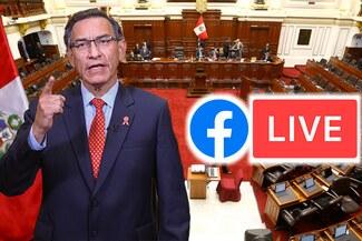 Martín Vizcarra EN VIVO vía Congreso TV:  Sigue EN VIVO el votación sobre la vacancia presidencial
