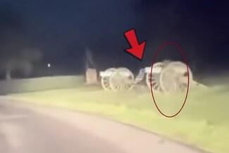 Capta a un supuesto fantasma de un soldado y es viral en las redes [VIDEO]