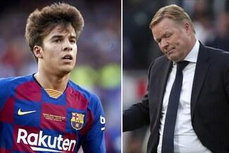 Barcelona: Ronald Koeman le indicó a Riqui Puig que no lo tendrá en cuenta para la presente temporada