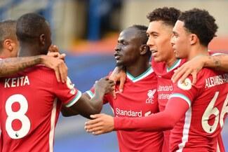 Liverpool se impuso por 2-0 a Chelsea con doblete de Mané por la Premier League