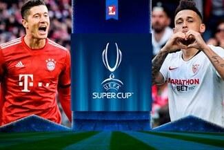 Bayern Múnich y Sevilla van por su segunda Supercopa de Europa