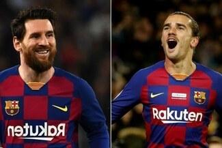 Barcelona apostaría por la dupla de Lionel Messi y Antoine Griezmann [VIDEO]
