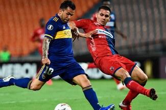 Con lo justo: Boca Juniors derrotó 1-0 al DIM por la Copa Libertadores