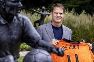 """Frank de Boer: """"Seguiré el camino de Ronald Koeman realizado en la selección"""""""