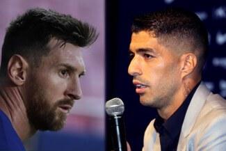 """Luis Suárez responde al mensaje de Messi: """"Que 2, 3 o 4 no empañen lo gigante que eres"""""""