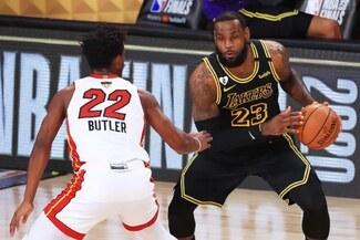 Miami Heat ganó 111-108 a los Lakers en el Game 5 NBA Finals - Resumen