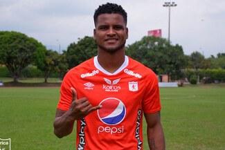Aldair Rodríguez, presentado como nuevo jugador del América de Cali