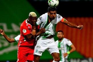 Atlético Nacional reaccionó en el final y empató 2-2 con América de Cali en la Liga BetPlay - VIDEO