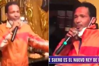Kike Suero es captado animando fiesta clandestina en plena pandemia - VIDEO