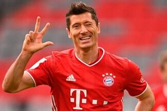 Robert Lewandowski logró nuevo récord con el Bayern Múnich en la Bundesliga - VIDEO