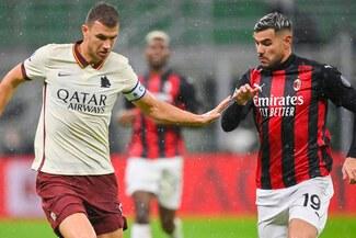 AC Milan igualó 3-3 ante Roma por la jornada 5 de la Serie A - RESUMEN