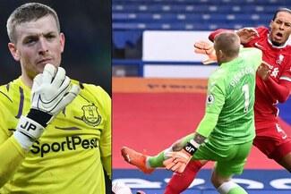 Pickford recibió amenazas de muerte tras la lesión de Van Dijk y contrató 25 guardaespaldas