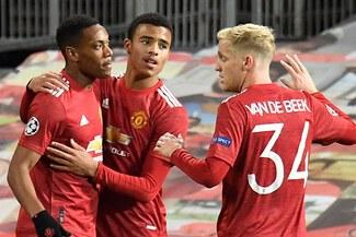 Manchester United goleo 5-0 al RB Leipzig con triplete de Rashford por Champions - VIDEO