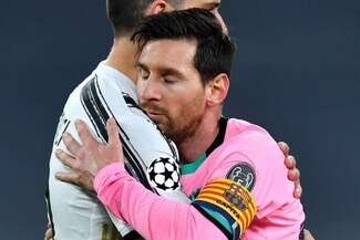 Lionel Messi anotó de visita en la Champions League después de un año - VIDEO