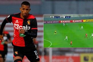 El enorme gesto de Vidales: paró el juego para que atiendan a jugador de Bahía - VIDEO