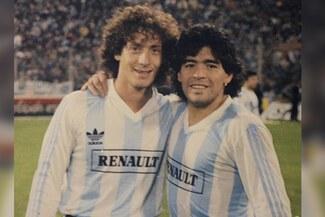 Pedro Troglio y su emotivo saludo de cumpleaños a Diego Maradona - Foto