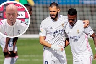 """Zidane minimizó lo ocurrido entre Vinicius y Benzema: """"Siempre han pasado cosas así""""-VIDEO"""