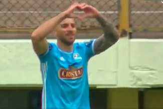 ¡Gol de goleador! Emanuel Herrera anotó 1-0 de Cristal ante Stein - VIDEO