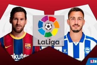 Barcelona vs Alavés EN VIVO: Horarios y canales TV dónde ver partido por LaLiga