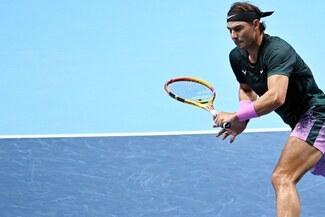 Nadal perdió ante Thiem y complicó sus chances de estar en 'semis' del Masters de Londres