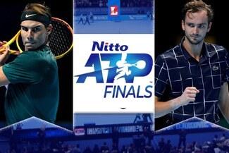 Medvédev venció a Rafael Nadal y accedió a la gran final del ATP Finals 2020