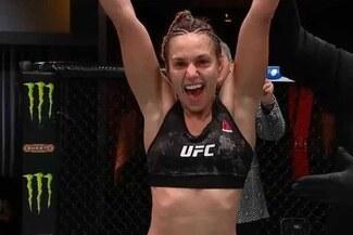 UFC 255: Antonina Shevchenko ganó por nocaut técnico a Ariane Lipski - VIDEO
