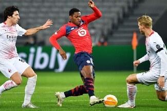 Milan empató con Lille y se complicó en la Europa League