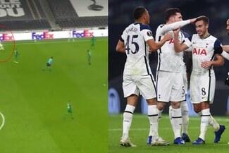 Candidato al Puskas: Harry Winks anota golazo de más de 40 metros con Tottenham en Europa League - VIDEO