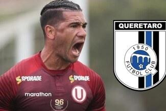 Jonathan Dos Santos no seguirá en Universitario el 2021: tiene acuerdo con Querétaro