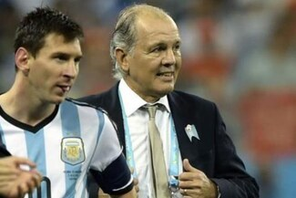 """Messi se despide de Alejandro Sabella: """"Me marcó en mi carrera y aprendí mucho de él"""" - FOTO"""