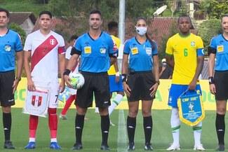 Sub-20: Selección peruana cayó 6-0 ante Brasil en un partido amistoso