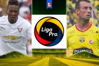 Barcelona venció a LDU de Quito y es campeón de la Liga Pro