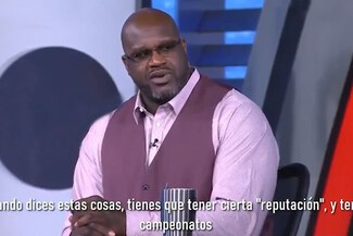 Shaquille O'Neal cargó sin piedad contra James Harden - VIDEO
