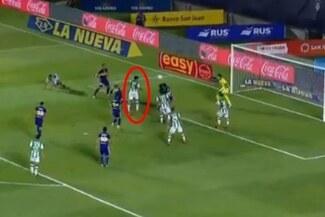 Se equivocó Zambrano y Lollo anotó el empate para Banfield en la última jugada - VIDEO