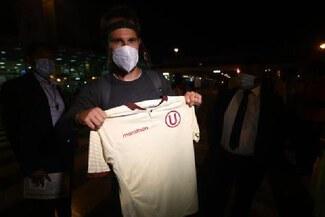 """Novick ya está en Lima para jugar por la 'U': """"Llego al club más importante del Perú"""""""