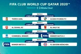 Mundial de Clubes 2020: llaves y enfrentamientos definidos del torneo - FOTO