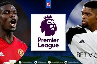 Ver ESPN, Manchester United - Fulham EN VIVO: PT 0-0 fecha 18 de la Premier League