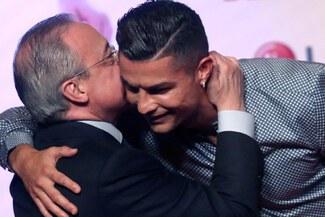 Cristiano Ronaldo y presidente del Real Madrid tuvieron reunión en Italia - Video